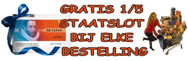 Gratis staatslot bij autoshop.nl