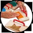 Zintuiglijke spellen voor ouderen met dementie, doven en blinden