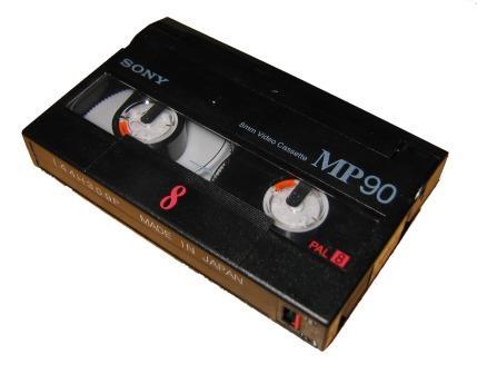 Video 8 videoband scannen en omzetten naar MPEG