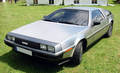 DeLorean DMC-12 Blanke metaalkleur