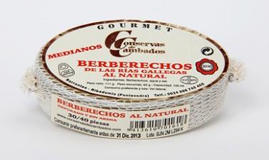 Berberechos al Natural