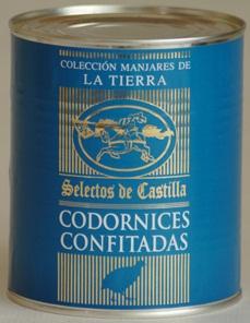 Codornices Confitados - 2 unid.