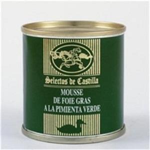 Mousse de Foie Gras a la Pimienta Verde - 200 gr