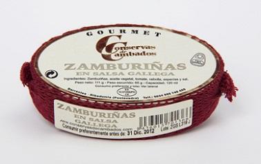 Zamburiñas en Salsa Gallega