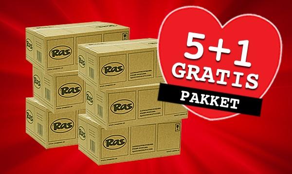Voordeelpakket 5 + 1 GRATIS