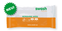 <B>Swash Refreshing Wipes<B>