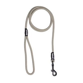REBEL PETZ BASIC LEASH TAUPE SMALL