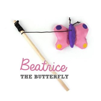 BECO WAND TOY BEATRICE BUTTERFLY