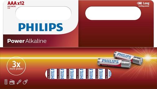 Philips Powerlife LR03 batterij (AAA) 1.5V 12 ST