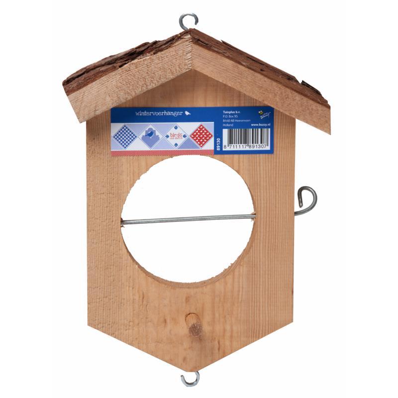 BIRDS WINTERVOERHANGER HOUT (10)