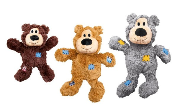 KONG WILDKNOTS BEARS SMALL/MEDIUM