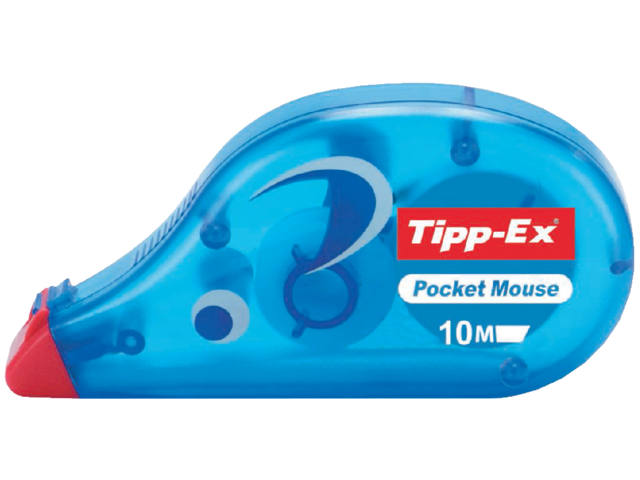 TIPP-EX CORRECTIEVLOEISTOF POCKET MOUSE 10MTR