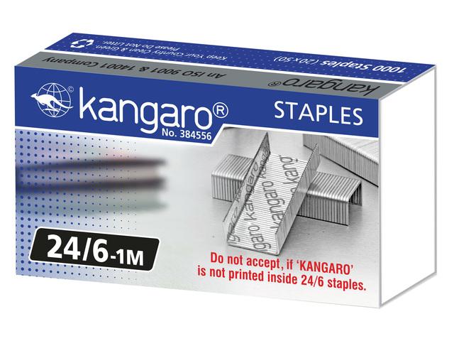 KANGARO NIETJES 24/6 1000 STUKS