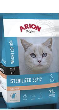 ARION K ORIGINAL STERILEZED SALMON 2 KG