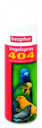 BEAPHAR VOGELSPRAY 404 500 ML NL