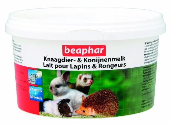 BEAPHAR MELKPOEDER KNAAGDIER & KONIJNEN 200 G
