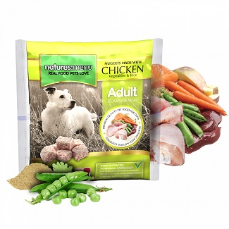 NATURES MENU DOG FROZEN CHICKEN 1 KG.