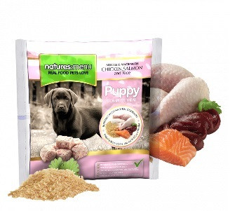 NATURES MENU DOG FROZEN PUPPY 1 KG.