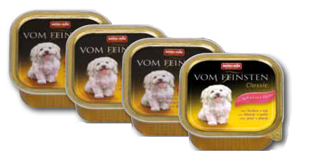 FEINSTEN DOG ADULT KALK+LAM 150 GR.