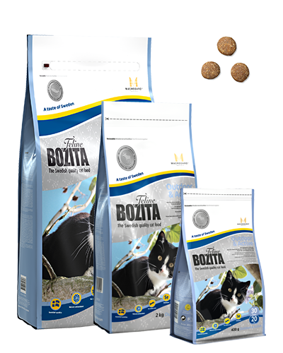 BOZITA FELINE OUTDOOR & ACTIVE 2 KG.