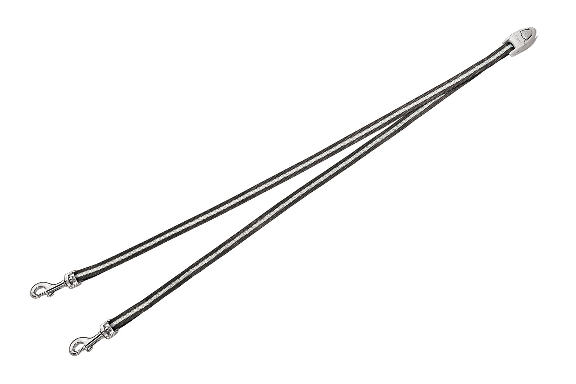 Flexi vario duo belt antraciet (VERVALLEN)