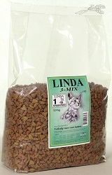 LINDA KATTENBROK 3 MIX 2,5 KG