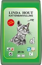 LINDA KATTENBAKVULLING HOUT 25 LTR.