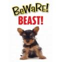 PG waakbord pas op Beast