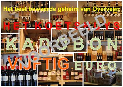 Kadobon VIJFTIG euro