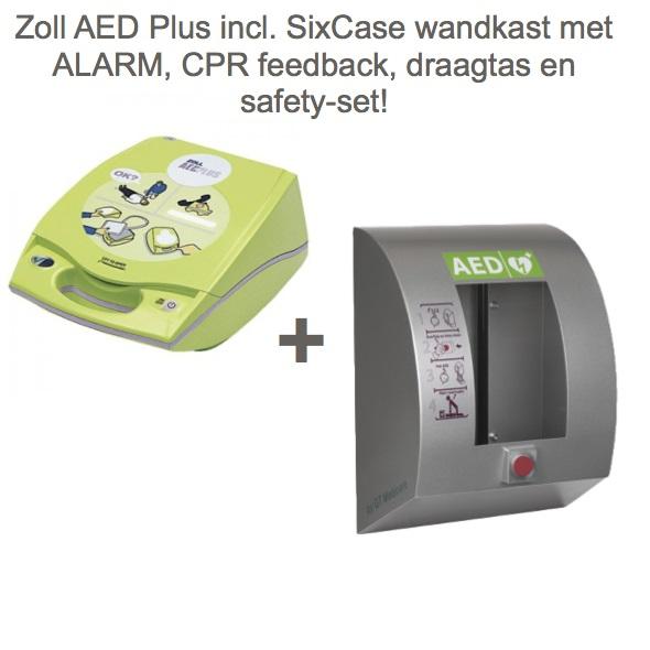 Zoll Plus AED + SixCase SC1310 Binnenkast
