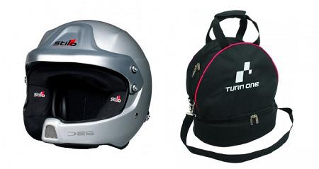 Combideal Stilo WRC DES helm + Helmtas