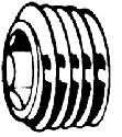 D906 PLUG BZK PIJPDR 1/2