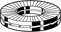 HEICO RVS A4 RING M10