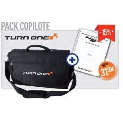 Co-Driver Pack - codriver Bag and Notebook