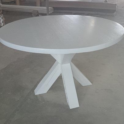 witte ronde eettafel loungeset 2017