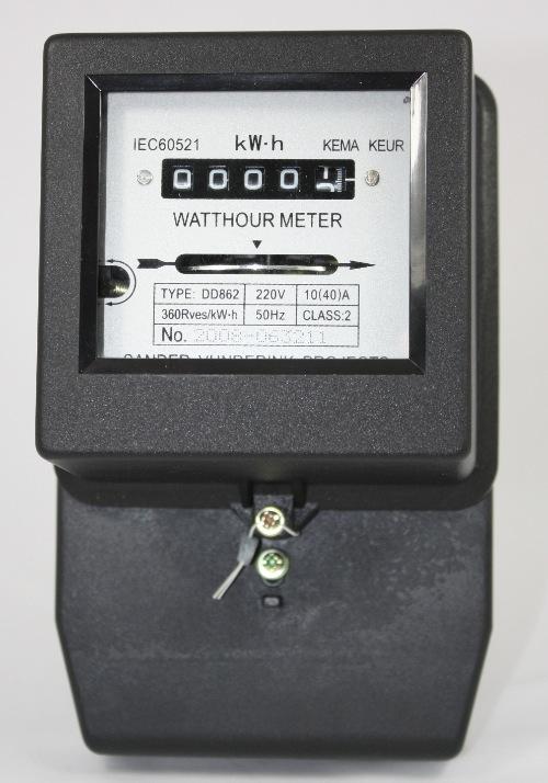 kWh-meter 1-fase