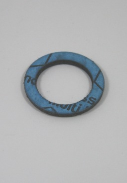"""Pakkingring fiber 3/4\""""(24x18x1,8mm) voor wartelmoer DN16 RVS ribbelbuizen, per 5 stuks"""