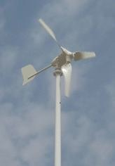 Windturbine 450Watt, incl. net-inverter