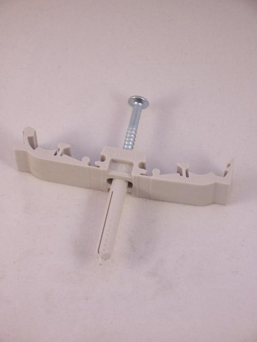 Speedclip muurbeugel voor 15 mm buis