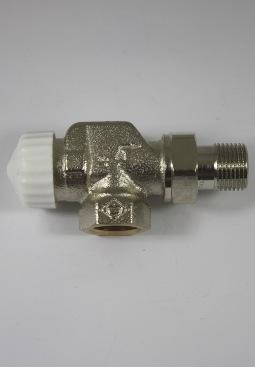 Heimeier V-Exakt thermostatische kraan haaks verk.