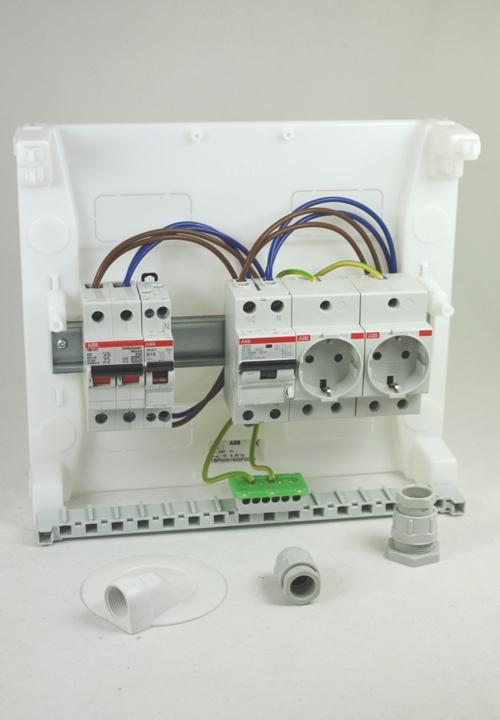 Afbeelding is van ABB ZV16 2x WCD en inst. automaat