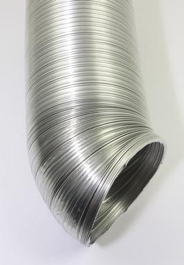 Flexibele aluminium buis binnendiameter 100mm voor ventilatie