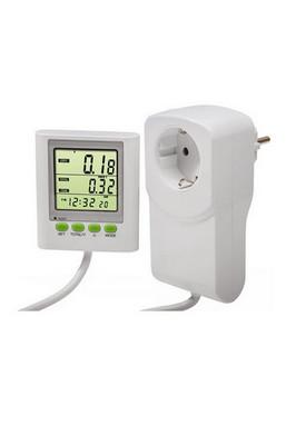 Elektriciteits verbruiksmeter met apart LCD display voor een gemakkelijkere aflezing