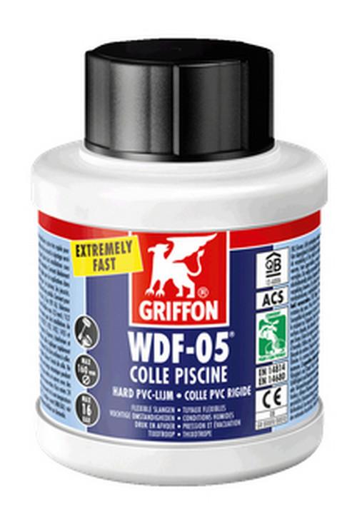 Griffon WDF-05 PVC lijm voor zwembaden 250ml