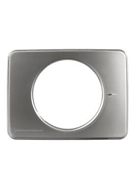 Voorfront voor Intellivent, kleur Aluminium