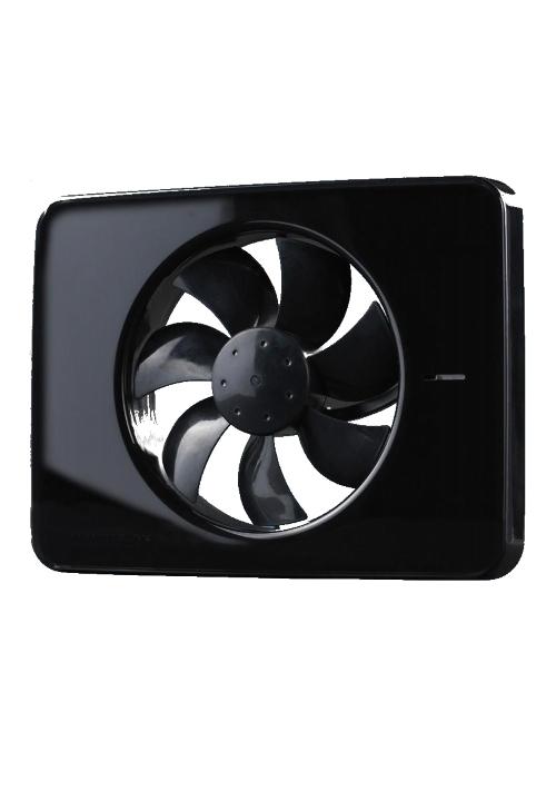 Intellivent ventilator zwart