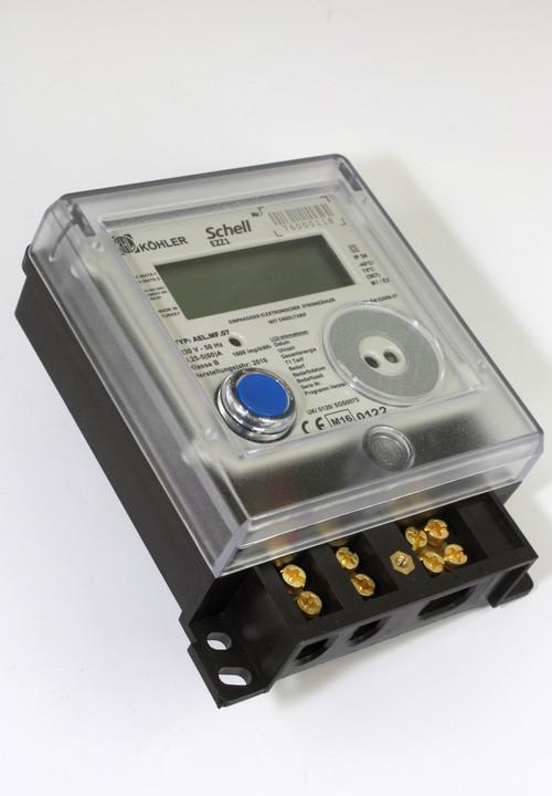kWh-meter Köhler digitaal 1-fase