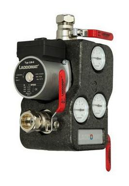 Laddomat buffervat oplaadunit tbv houtkachel met thermostatische regeling