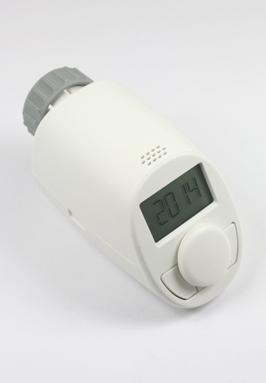 Klok/thermostaat knop voor thermostatische radiatorkranen