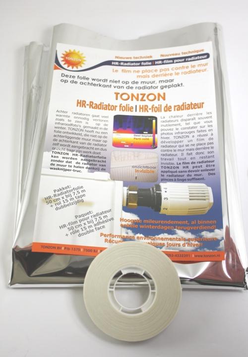 Radiatorfolie plakstrip